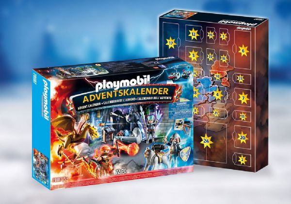Image of   Julekalender Kampen om den magiske sten - Playmobil Jul 70187
