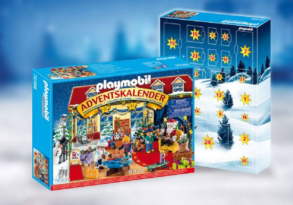 Image of   Julekalender Jul i legetøjsbutikken - Playmobil Jul 70188