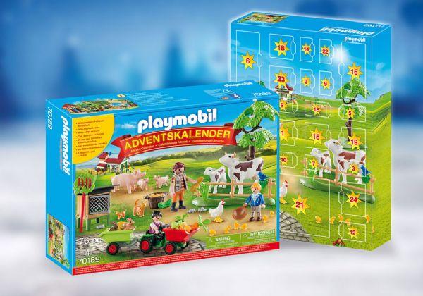 Image of   Julekalender På bondegården - Playmobil Jul 70189
