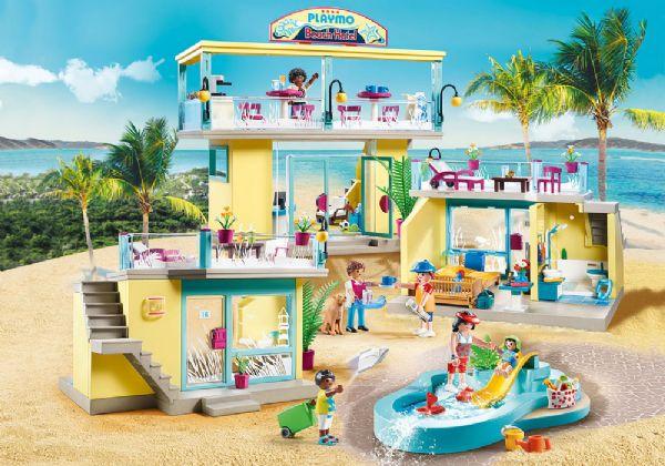 Image of Strandhotel - Playmobil Family Fun 70434 (13-070434)