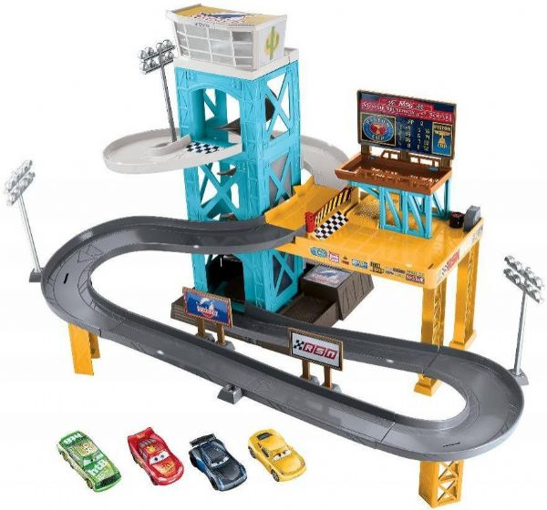 Image of Cars Piston Cup Garage - Disney Lynet McQueen biler DXY86 (140-0DXY86)