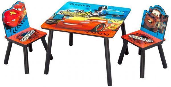 Image of Cars bord og stole - Disney biler børnebord TT89504CR (140-304323)