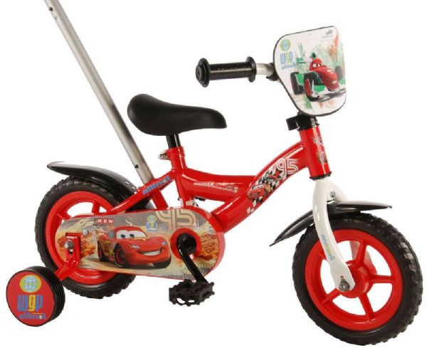 Image of   Cars Børnecykel 10 tommer - Disney Cars børnecykel 310058