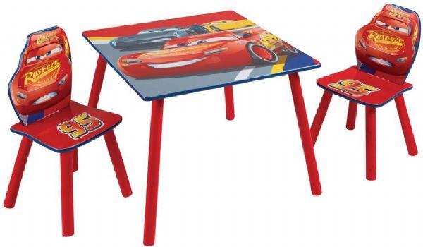 Image of   Cars Bord og Stole - Disney cars børnemøbler 669426