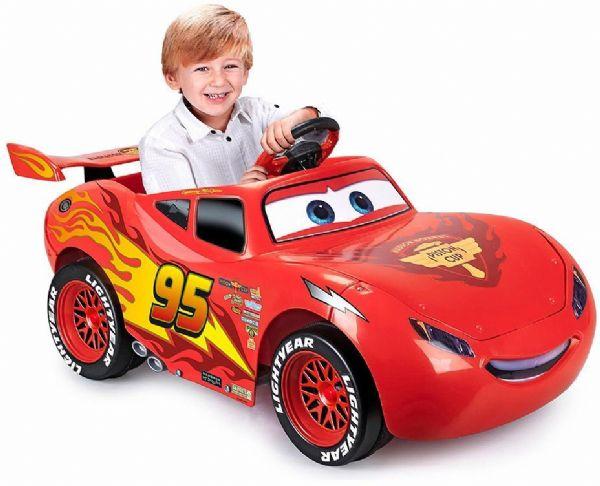 Image of Lynet McQueen elbil 6v - Disney Cars 3 Feber elbil 720004 (140-720004)