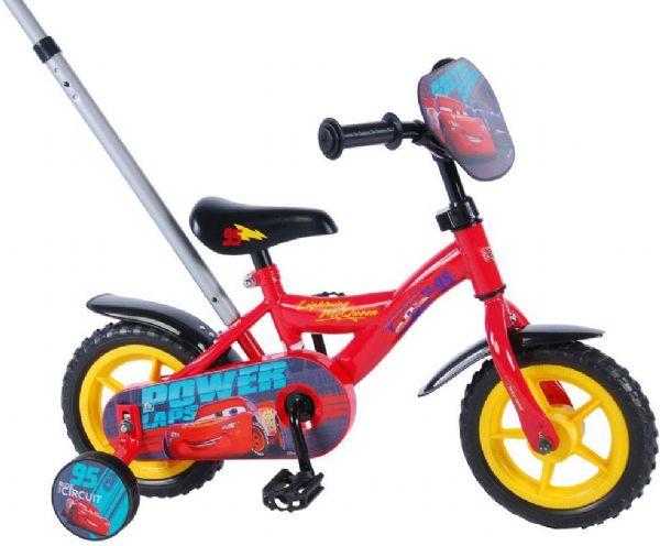 Cars 3 børnecykel 10 tommer - disney cars børnecykel 810480 fra cars på eurotoys