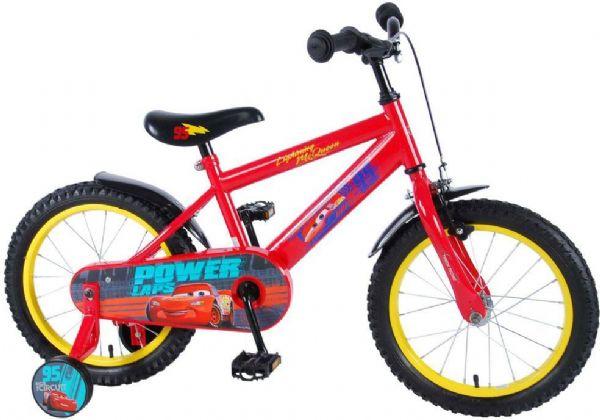cars Cars 3 børnecykel 16 tommer - disney cars børnecykel 816482 fra eurotoys