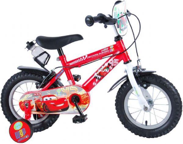Disney cars børnecykel 12 tommer - disney cars børnecykel 996061 fra cars fra eurotoys