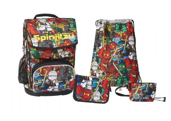 LEGO Ninjago Comic Skoletaske sæt - LEGO Bags Skoletaske 891806 - Skoletasker og tasker - Lego Skoletaske