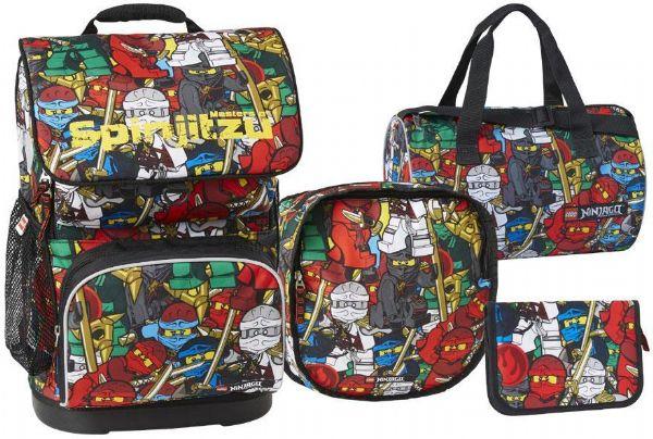 Image of LEGO Ninjago Comic Skoletaske sæt - LEGO Bags Skoletaske 20097-1806 (142-971806)