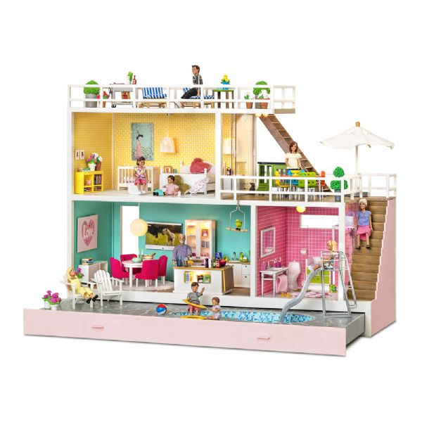 Image of Lundby Holiday Dukkehus - Lundby Dukkehus Holiday 609032 (150-609032)