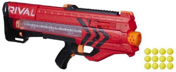 nerf Nerf rival zeus mxv-1200 rød - nerf rival gevær team red b1592 fra eurotoys