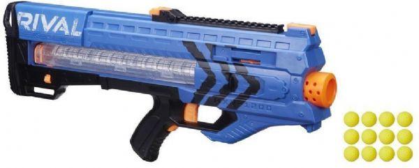 nerf Nerf rival zeus mxv-1200 blå - nerf rival gevær team blue b1593 fra eurotoys