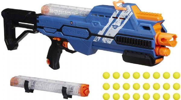 nerf Nerf rival hypnos xix 1200 blå - nerf rival gevær team blue e2901 på eurotoys