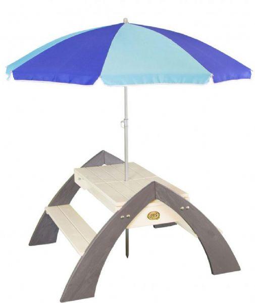Image of   Delta havebænk med parasol - Axi havebænk 031023