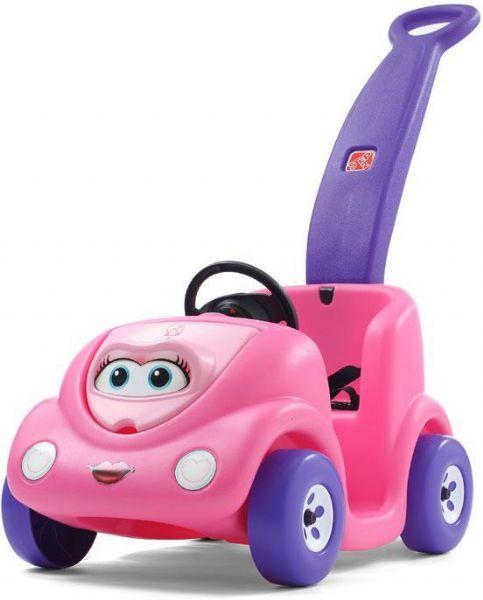 Image of   Jubilæums Lady skubbe Bil pink - Step2 Trækvogne 811892