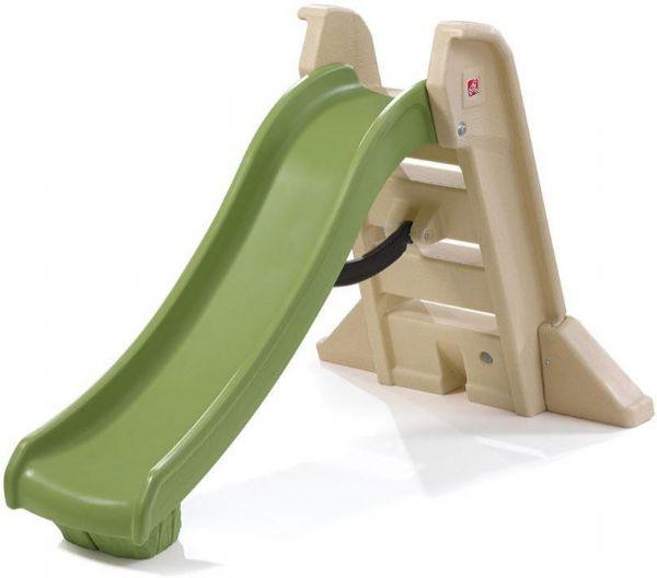 Image of Folde Rutsjebane grøn - Step2 Udendørsleg 844692 (191-844692)