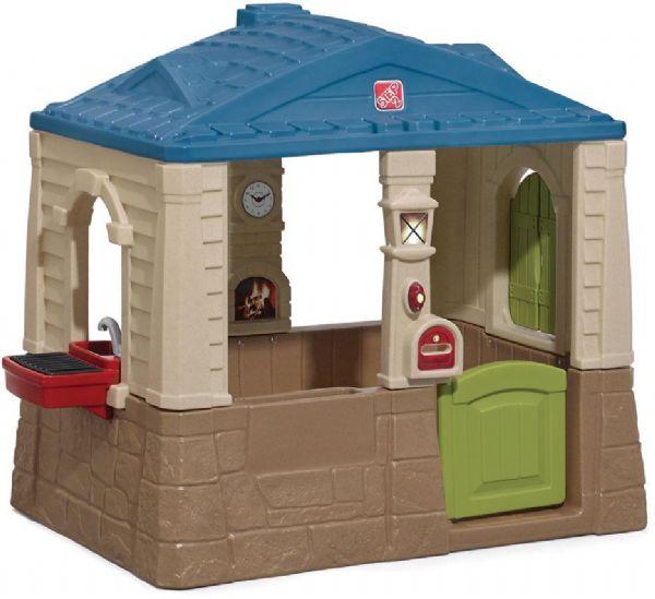 Image of   Grill hytten grøn og rød - Step2 Lege hus 853090