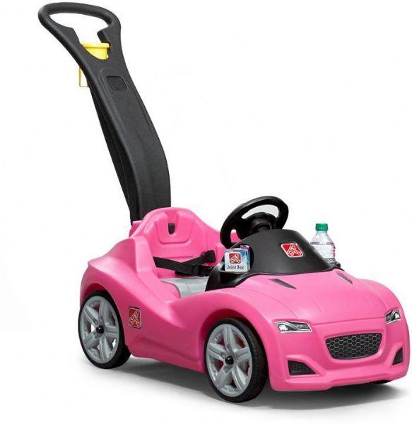 Billede af Step2 Whisper skubbe Bil pink - Step2 Trækvogne 866694