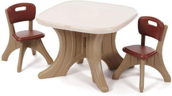Image of   Bord og stole sæt neutral - Step2 Børnemøbler 896899
