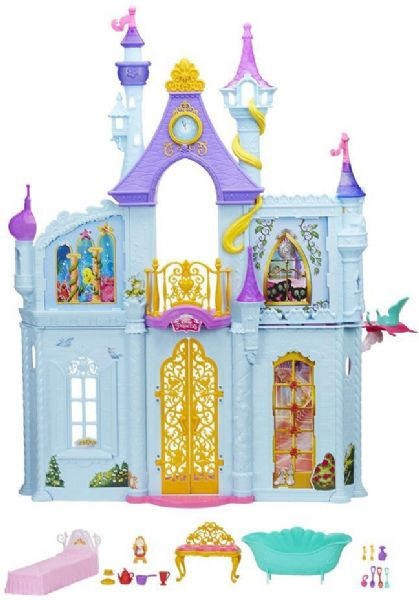 Image of Disney Prinsesse Royal Dreams Slot - Disney Princess dukkehus B8311 (199-0B8311)