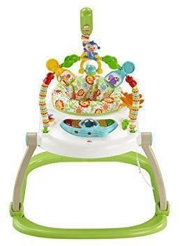 Image of Rainforest Friends SpaceSaver Jumperoo - Fisher Price babylegetøj CHN38 (20-0CHN38)