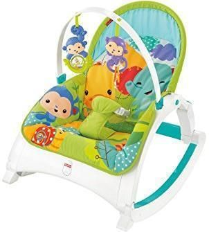 Image of Rainforest Friends Newborn-to-Toddler Po - Fisher Price babylegetøj CMR10 (20-0CMR10)