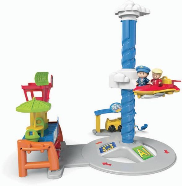Image of Fisher Price Lufthavn med lyd - Fisher Price Baby Legetøj DGN30 (20-0DGN30)