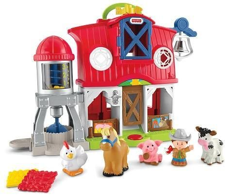 Image of Fisher Price Bondegård DK - Fisher Price Baby Legetøj FMR95 (20-0FMR95)
