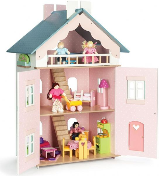 Image of   La maison de Juliette dukkehus - La maison de juliette dukkehus 411288