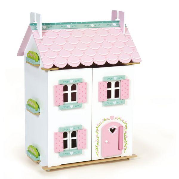 Image of   Dukkehus Sweetheart med møbler - Le Toy Van #341126