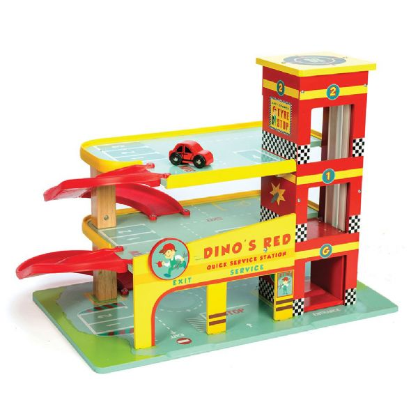 Image of   Dinos garage - Le Toy Van Biler LTV450