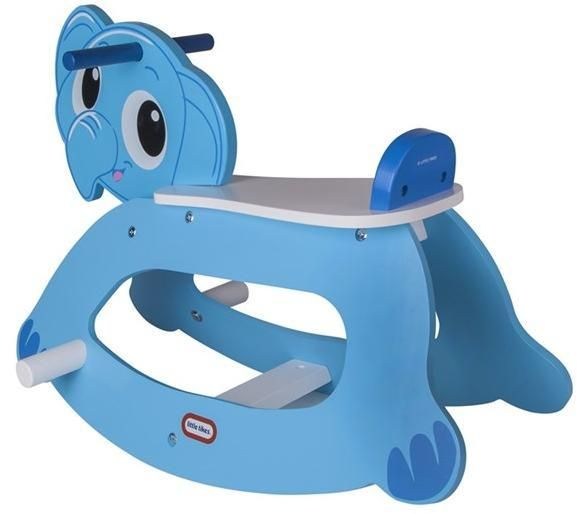 Image of Little Tikes gyngehest elefant - LITTLE TIKES Rocking Elephant 16004 (21-016004)