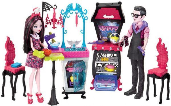 Image of Monster High Draculauras køkken - Monster High dukker FCV75 (218-0FCV75)