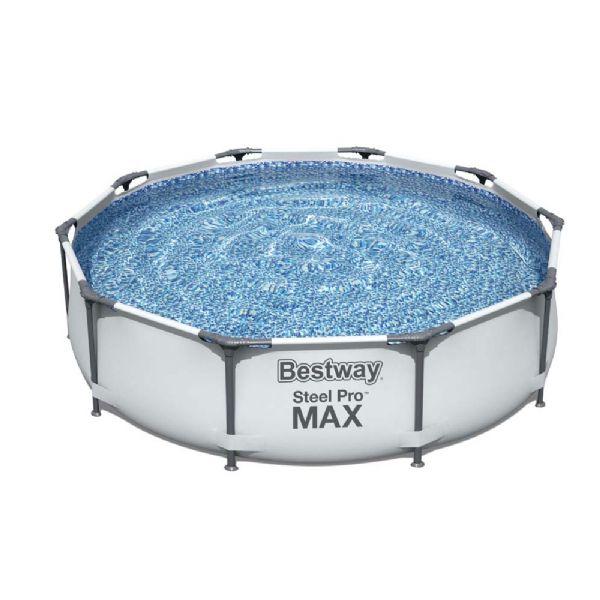 Image of Steel Pro MAX pool 4.678L 305x305x75 cm - Bestway svømmebassin 56408 (219-056408)