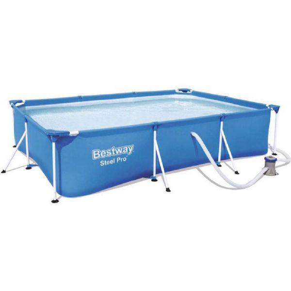 Image of Steel Pro pool 3.300L 300x201x66 cm - Bestway svømmebassin 56411 (219-056411)