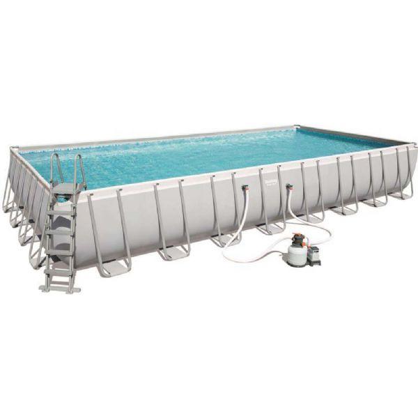 Image of Power Steel pool 53.231L 956x488x132 cm - Bestway svømmebassin 56623 (219-056623)