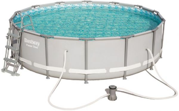 Image of Power Steel pool 13.030L 427x107 cm - Bestway svømmebassin 56641 (219-056641)