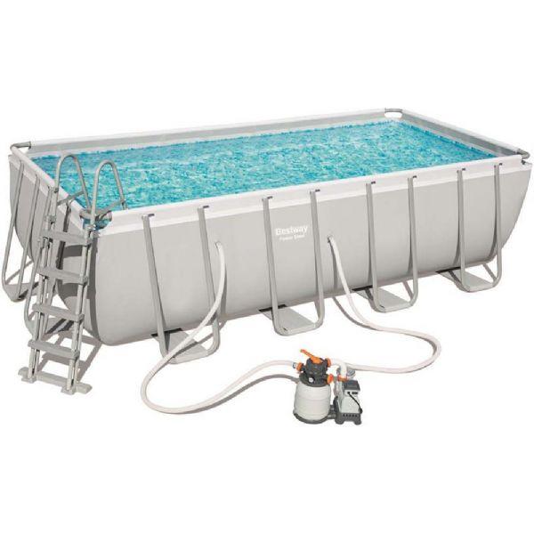 Image of Power Steel Pool 11.532L 488x244x122cm - Bestway Svømmebassin 56671 (219-056671)