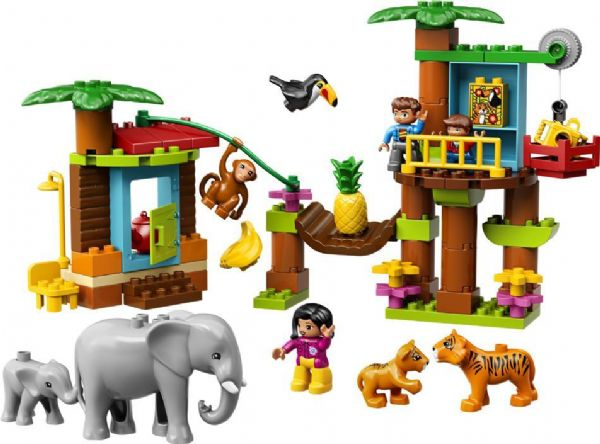 Tropeø - LEGO DUPLO 10906 - Byggeklodser - LEGO