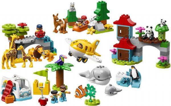 Verdens dyr - LEGO DUPLO 10907 - - LEGO