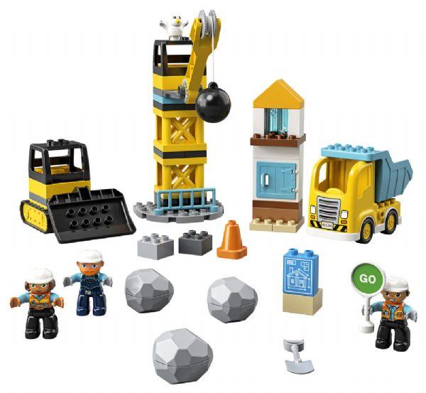 Nedrivningsarbejde - LEGO Duplo 10932 - Byggeklodser - LEGO