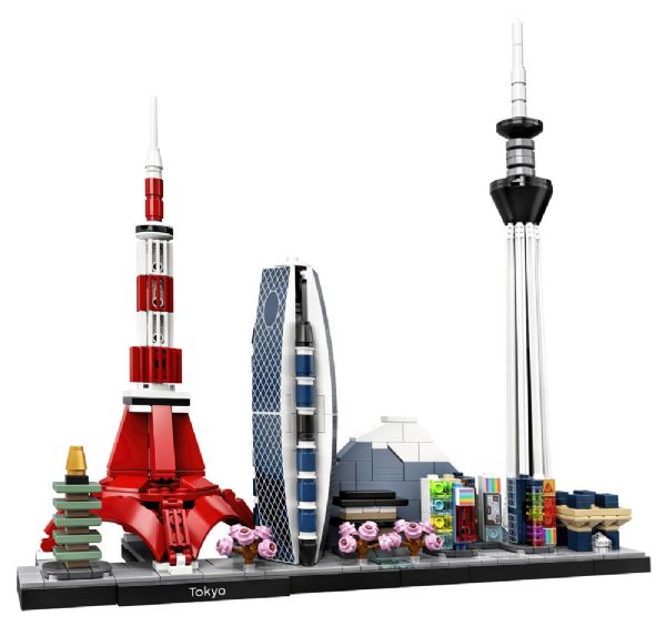 Tokyo - LEGO Architecture 21051 - Byggeklodser - LEGO