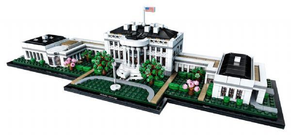 Det Hvide Hus - LEGO Architecture 21054 - Byggeklodser - LEGO