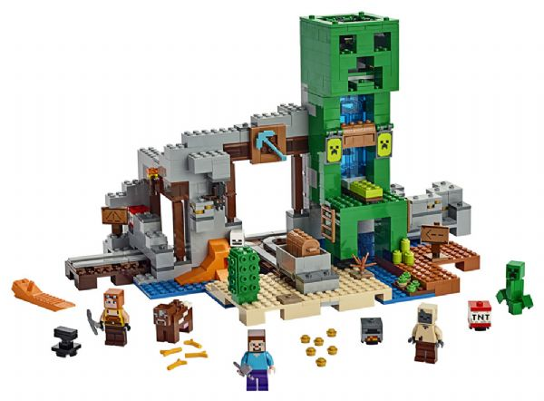 Image of CreeperT-minen - Lego Minecraft 21155 (22-021155)