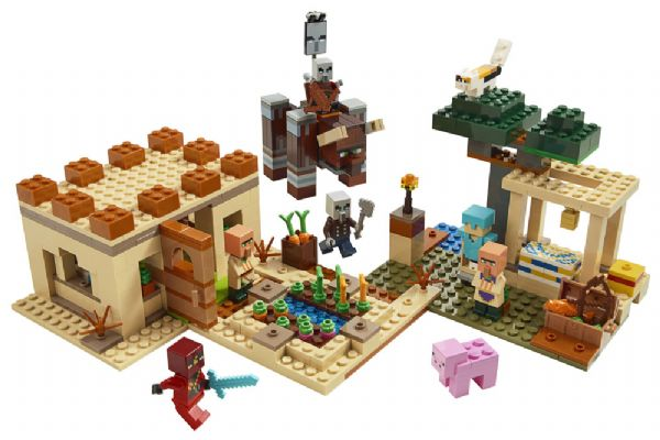 Image of   Illager-angrebet - LEGO Minecraft 21160
