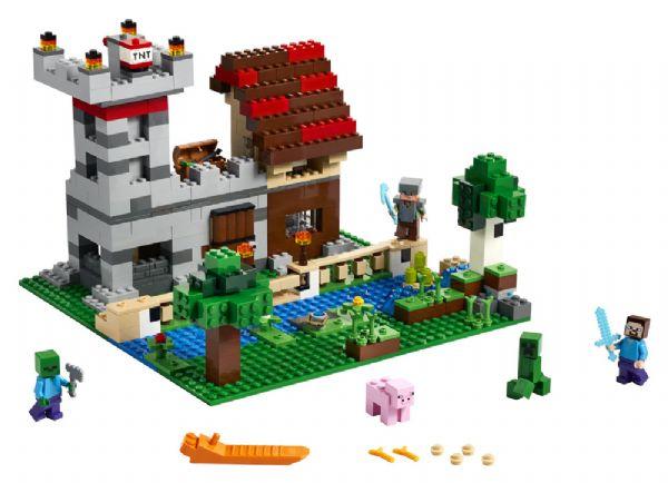 Crafting-boks 3.0 - LEGO Minecraft 21161 - Byggeklodser - LEGO