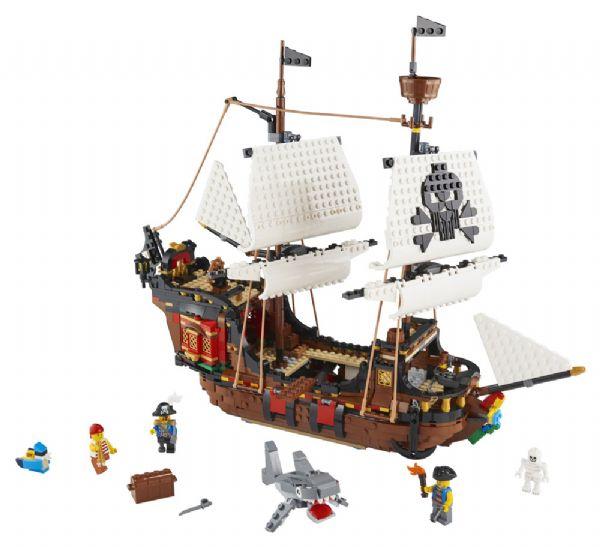 Piratskib - LEGO Creator 31109 - Byggeklodser - LEGO