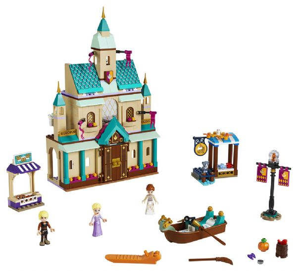 Image of   Arendal slotsby - LEGO Disney princess 41167
