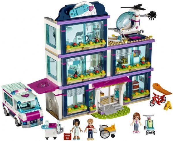 Image of Heartlake hospital - LEGO 41318 Friends Heartlake. (22-041318)